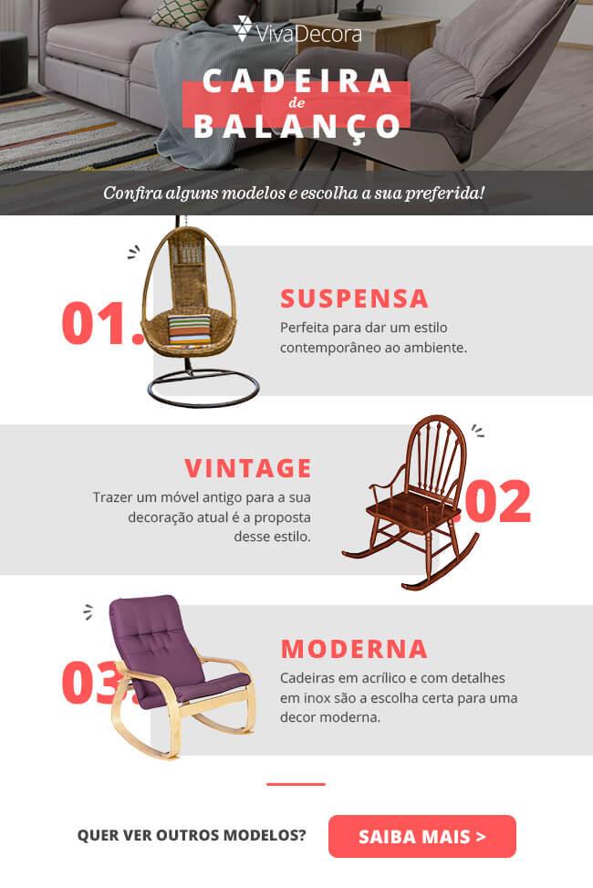 Infográfico - Cadeira de balanço