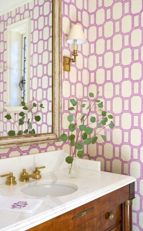 Papel de parede cor lilás