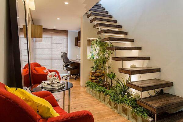 Aproveite cada cantinho da sua casa e inclua o verde na decoração