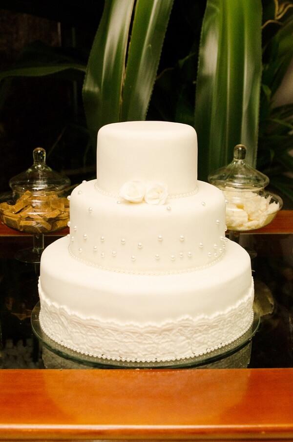 Bodas de prata bolo da festa