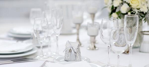 Bodas de prata decoração