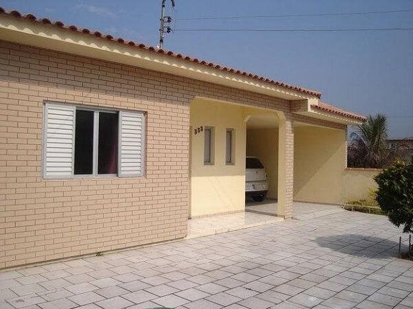 Casa com tijolo ecológico é de alta qualidade