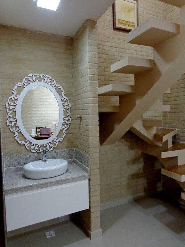 Casa de tijolo ecológico em estilo moderno