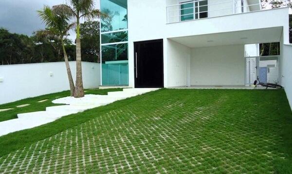 Concregrama para piso de garagem