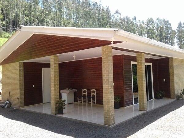 Construção de casa com tijolo ecológico não produz resíduos