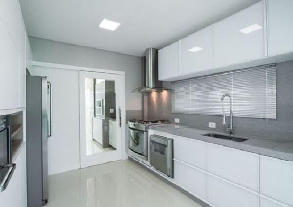 Cortina para cozinha clean
