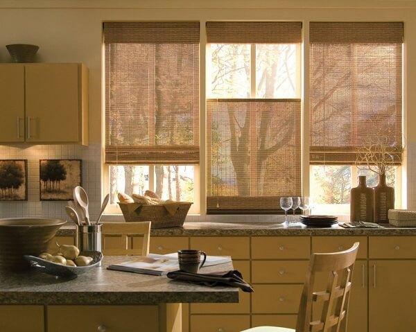 Cortina para cozinha decorada