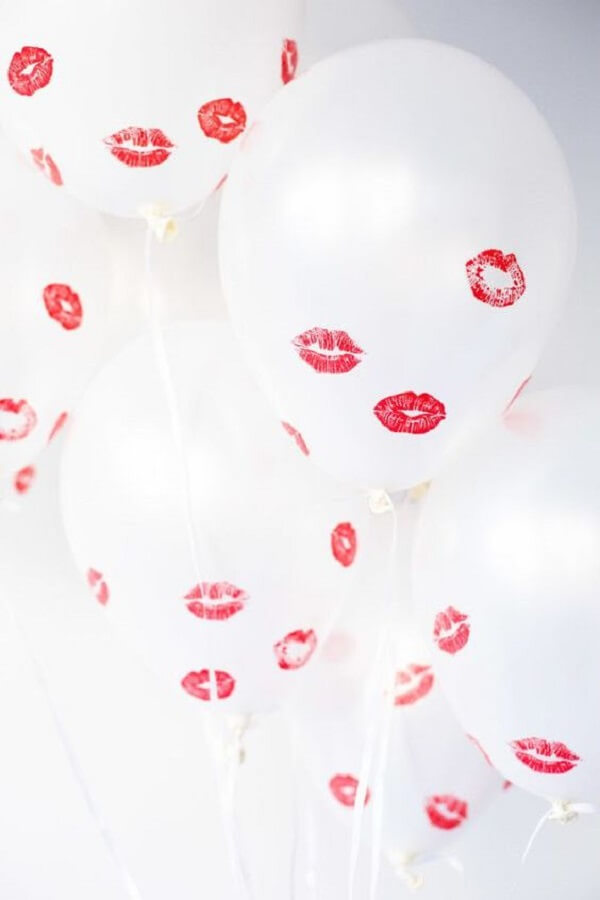 Espalhe beijos por toda a parte. Fonte: Reciclar e Decorar