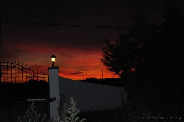 Para entrada de chácara utilize lamparina