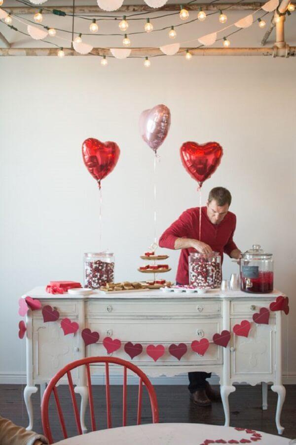 Prepare uma surpresa para o seu amor no dia dos namorados. Fonte: Pinterest