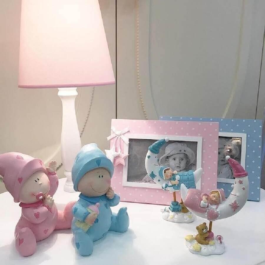 abajur para quarto infantil decorado com bonequinhos Foto Bebek Odasi