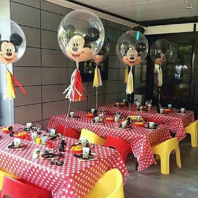 balões para festa do mickey simples Foto 5Miles
