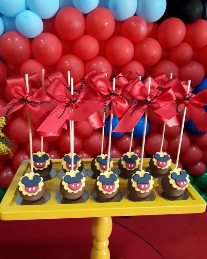 bolo para festa circo do mickey Foto C3 Cupcake