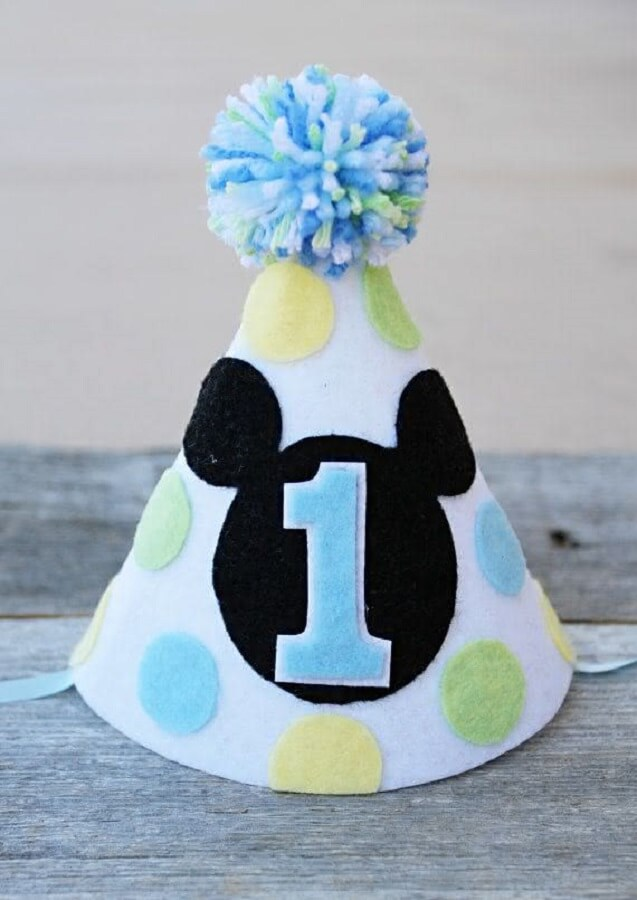 chapeuzinho para festa do mickey baby Foto Pinterest