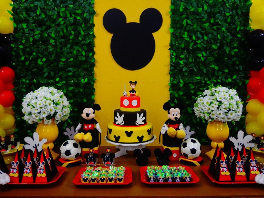 decoração para festa do mickey mouse Foto Art Magia Decorações