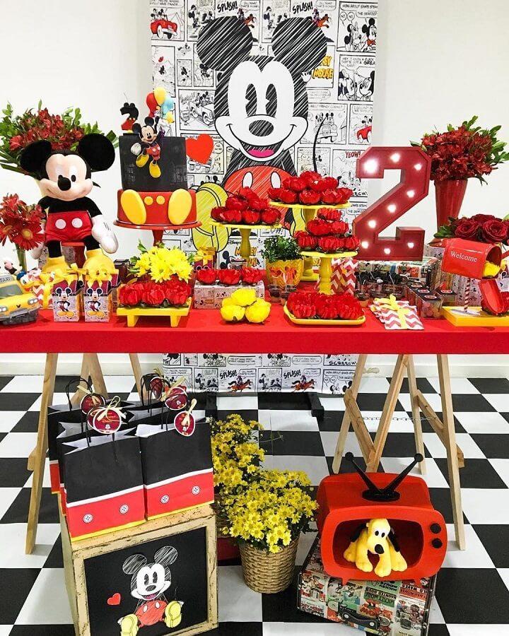 decoração para festa infantil do mickey Foto Tutus para Fiestas