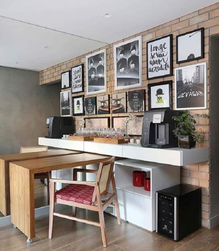 dicas de decoração para casa com vários quadros na parede Foto Quadros e Fatos