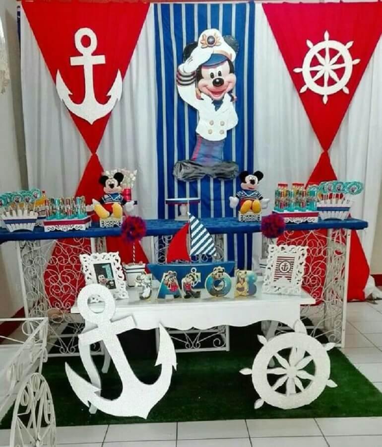 festa infantil do mickey marinheiro Foto Pinosy