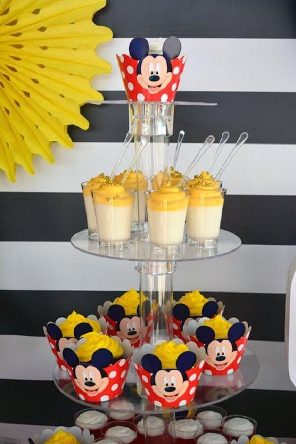 forminhas de doce para decoração de festa do mickey Foto Catch My Party
