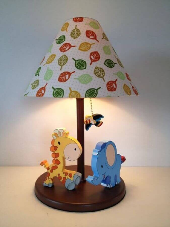 modelo de abajur para quarto infantil Foto Pinterest