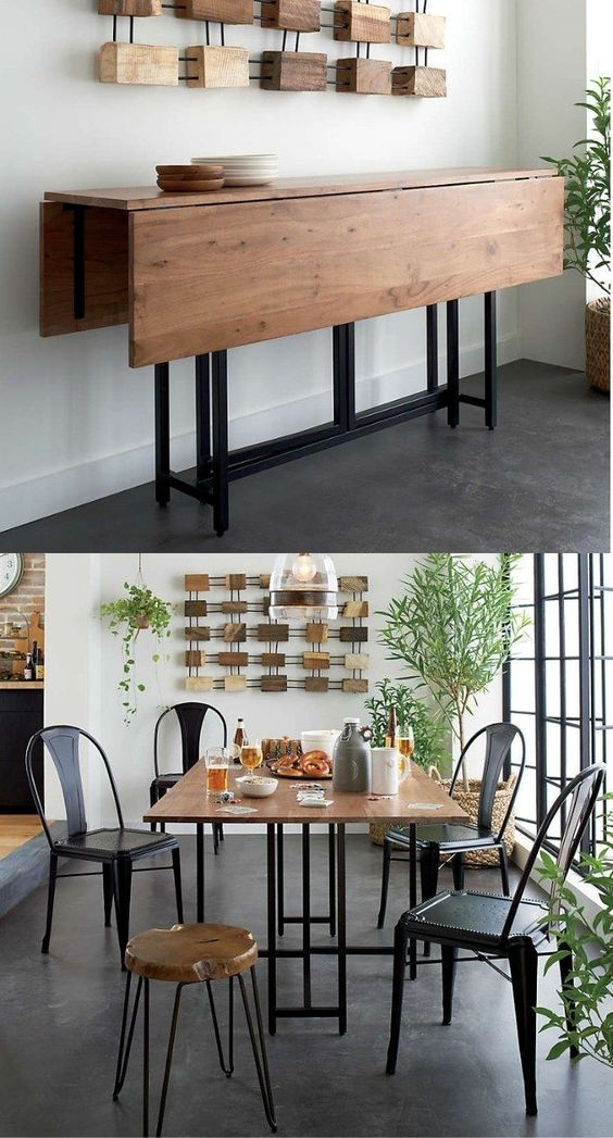 Mesa dobrável para sala de jantar