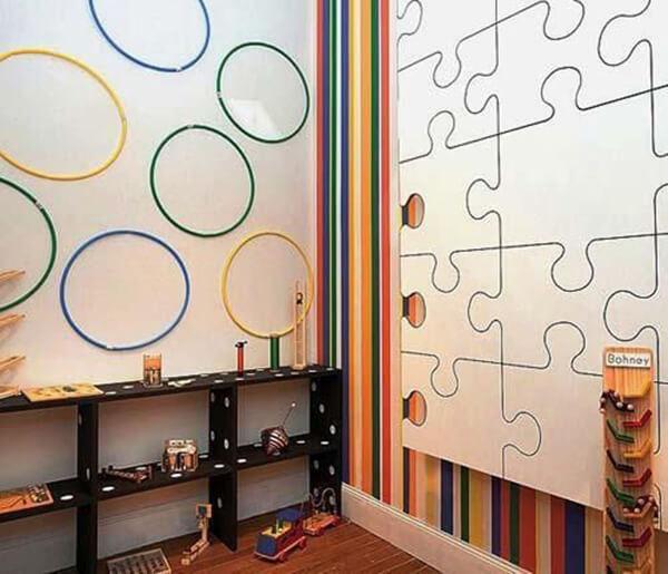 Quarto infantil planejado de menino decorado