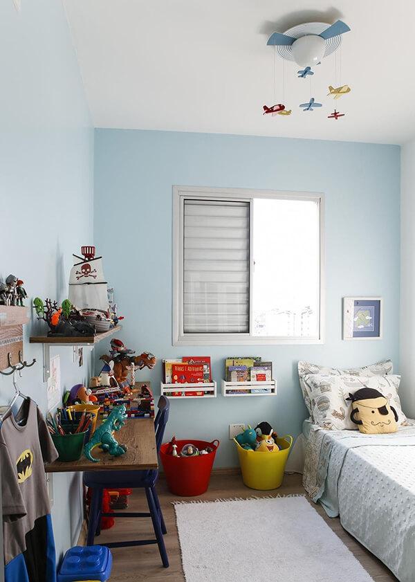 Quarto infantil planejado e decorado