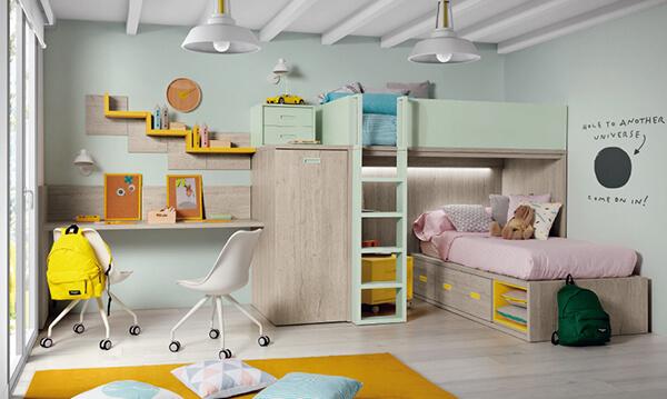 Quarto infantil planejado para meninas