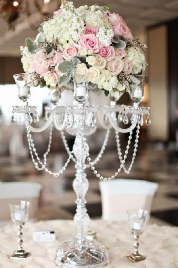 arranjo de rosas para decoração de bodas de casamento Foto Wedding Ideas
