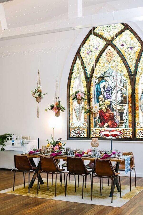 bodas de casamento dentro da igreja Foto Venue Report