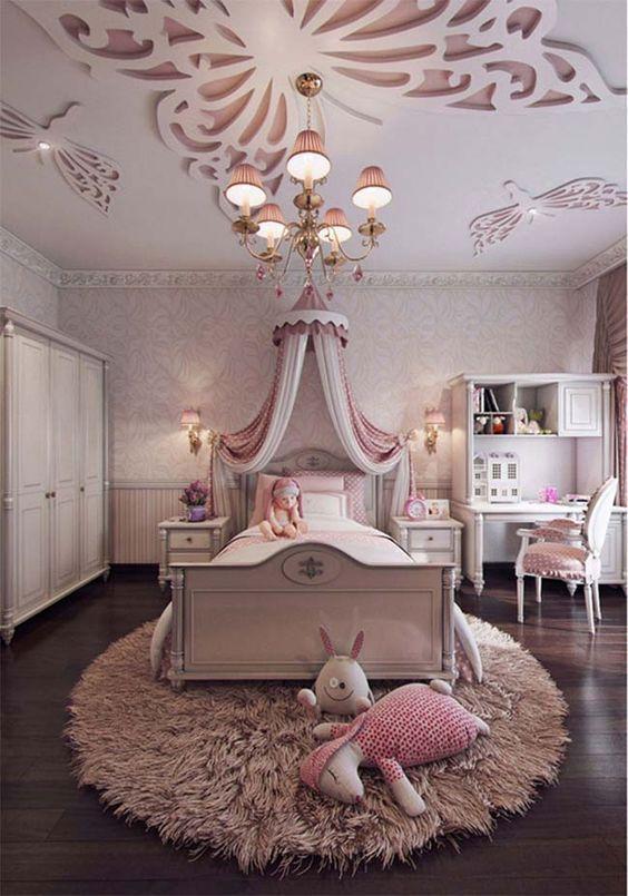 cama de princesas com dossel