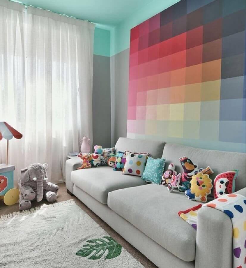 capas para almofadas coloridas e divertidas Foto Gabi Marques