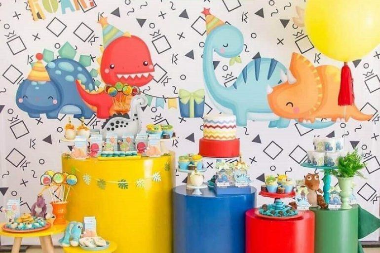 5. Um painel bem elaborado faz toda a diferença na decoração de festa infantil - Foto: D'Athelier by Dani