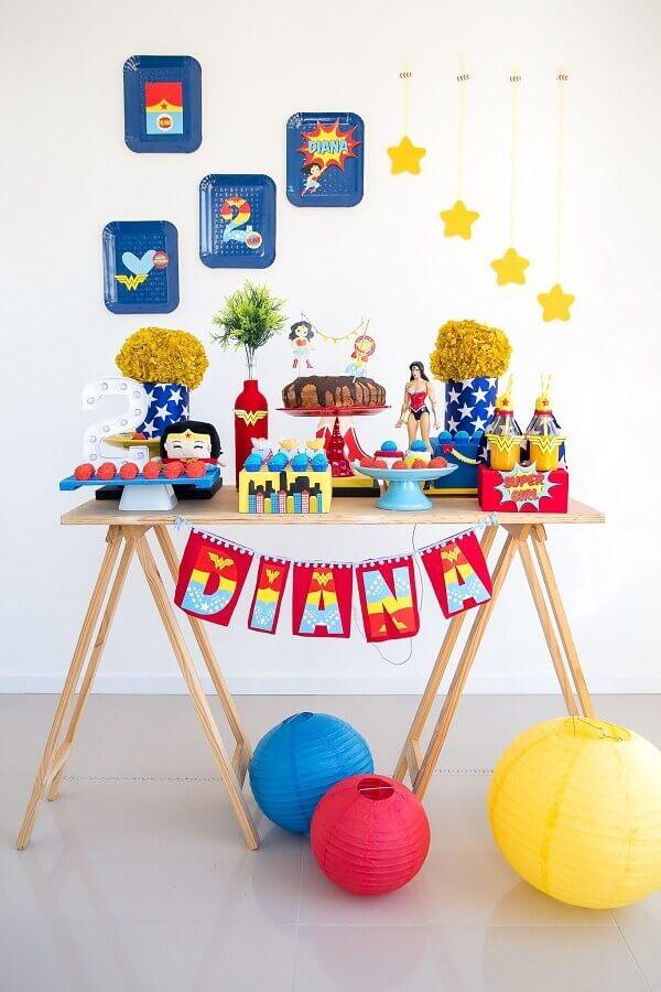 simple children's party decoration Foto Ideias Decor