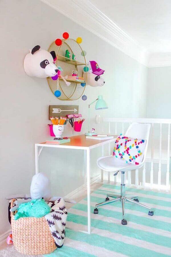 decoração infantil com nicho redondo Foto Hi Sugarplum!