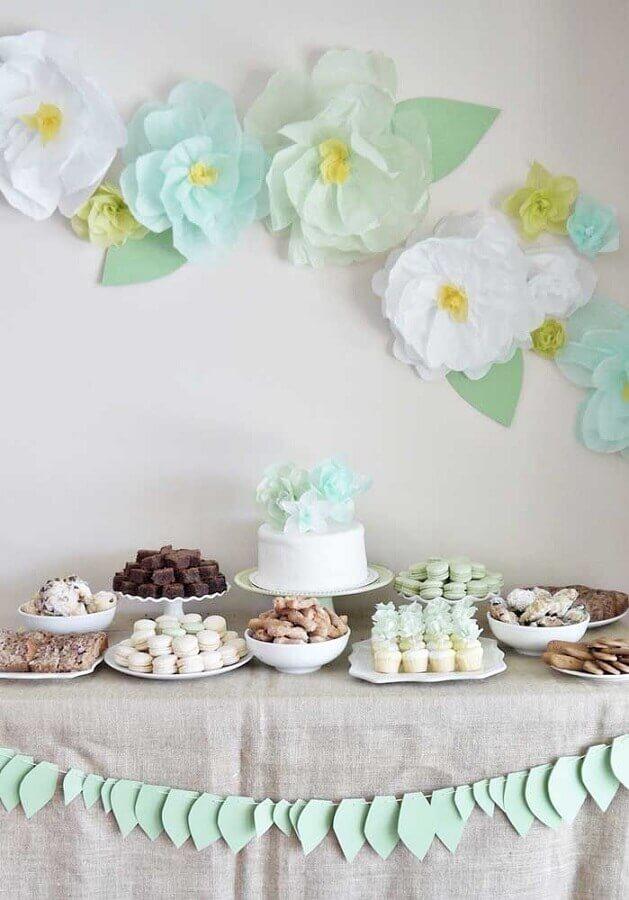decoração para bodas de papel Foto Weddbook
