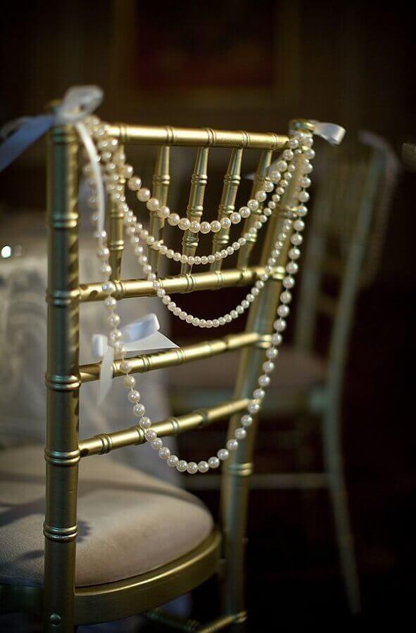 detalhes decorativos para bodas de pérola Foto Weddbook