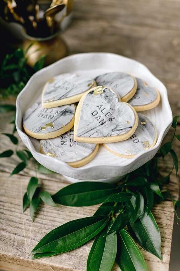 doces personalizados para bodas de prata Foto Emily Wren Photography