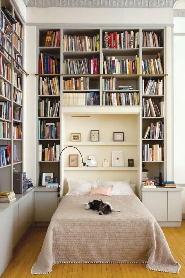 estante de livros para quarto Foto Bedroom DeCor