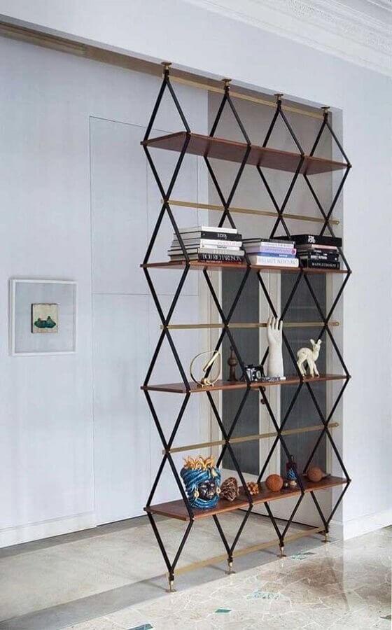 estante para livros moderna Foto Meta Networks