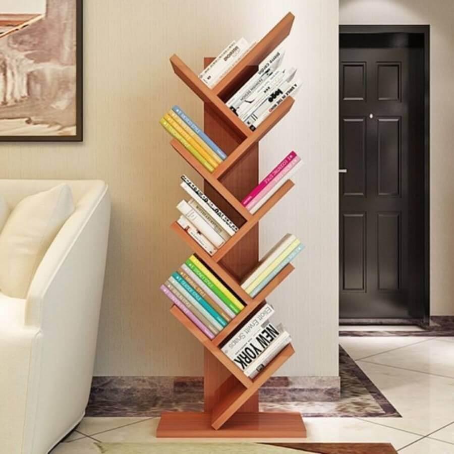 estante pequena para livros Foto Pinterest