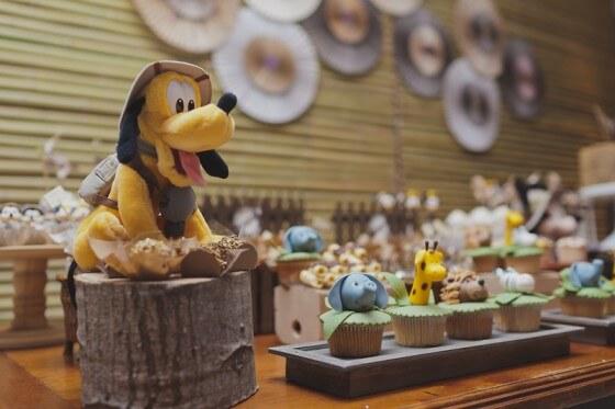 Festa safári do Mickey