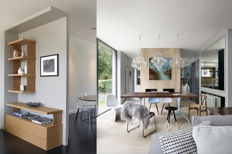 gesso acartonado - paredes de gesso dividndo ambientes