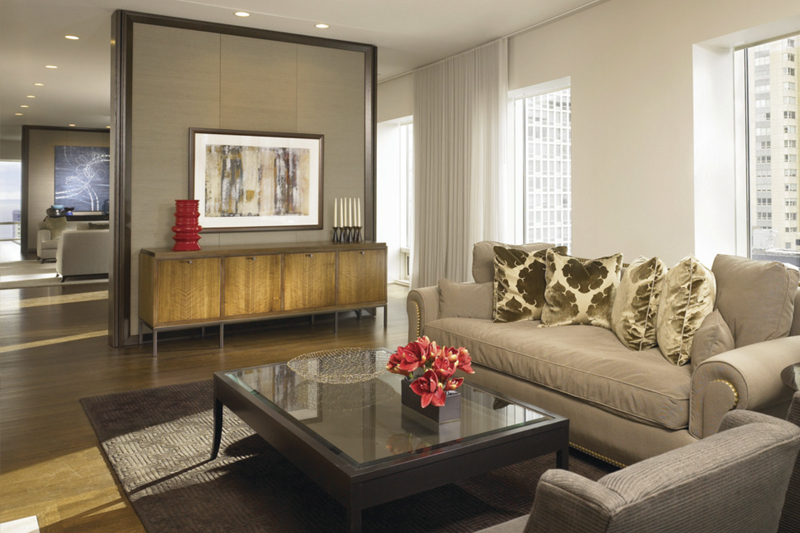 gesso acartonado - sala de estar com parede de gesso dividindo ambientes