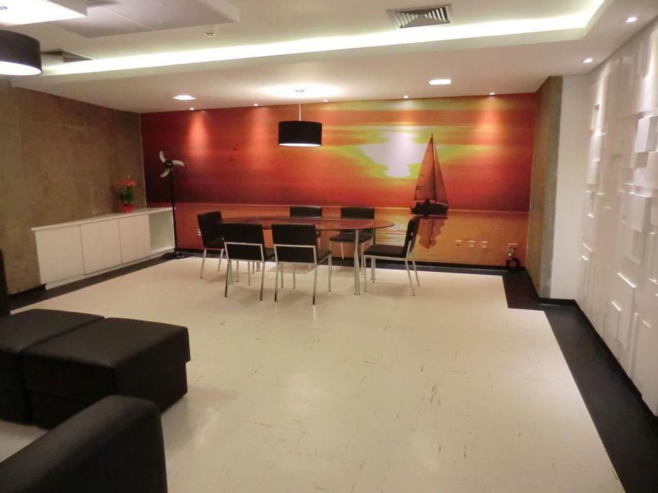 gesso acartonado - sala de jantar com painel de gesso