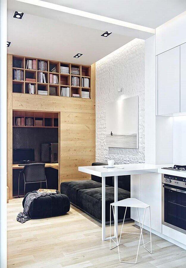 loft com móveis planejados Foto Daliss