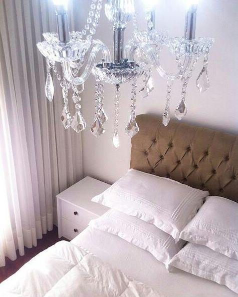 lustre em cristal