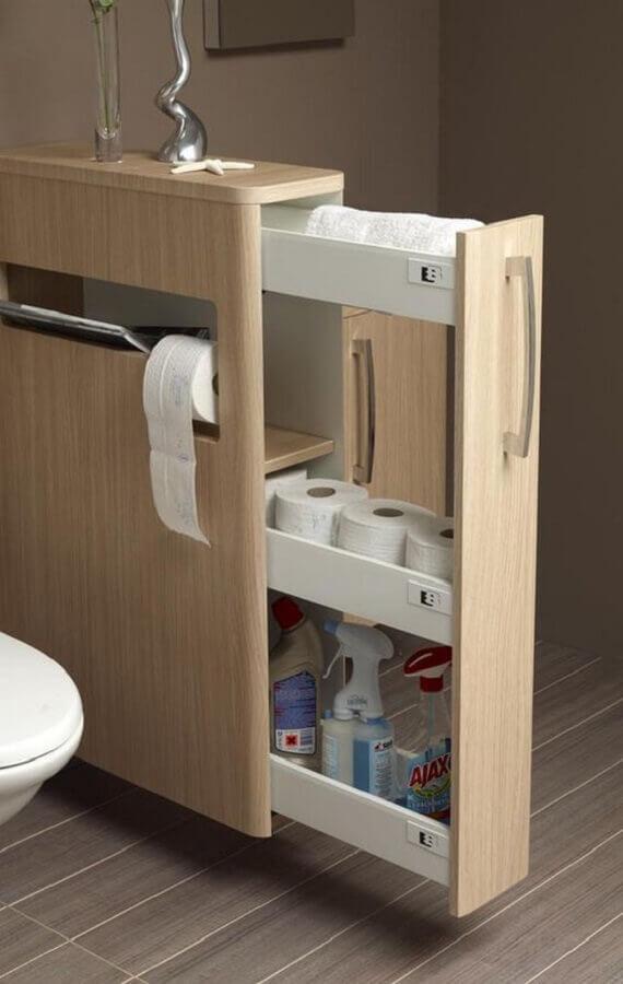 móveis planejados para banheiro Foto New Homedecor