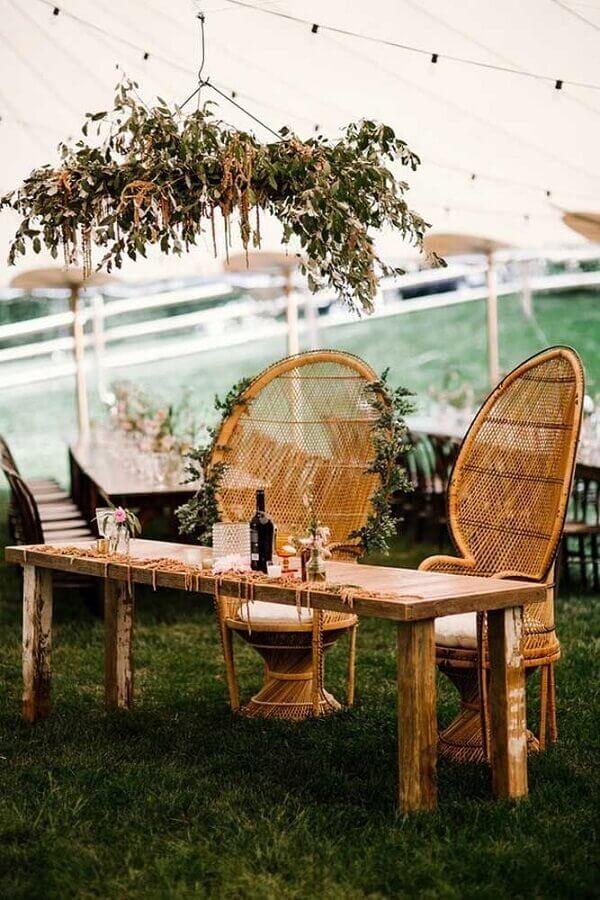 móveis rústicos para bodas de casamento Foto 100 Layer Cake