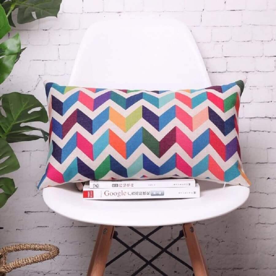 modelo de capa de almofada colorida Foto Comfy Queens